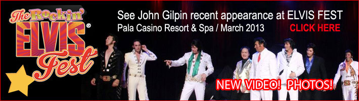 Recent appearance in Elvis Fest